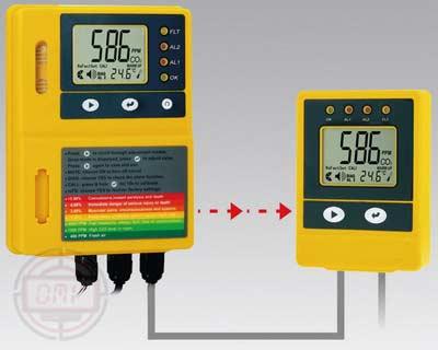 Alat Monitor Kontrol Suhu & Karbon dioksida (CO2) AMT75/AMT75R