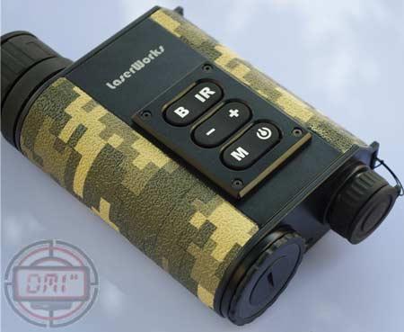 Teropong jarak jauh multifungsi laser rangefinder night vision lf