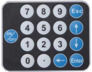 Keyboard Alat Ukur Korosi AMT810E